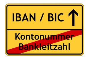 IBAN bald auch für Verbraucher Pflicht
